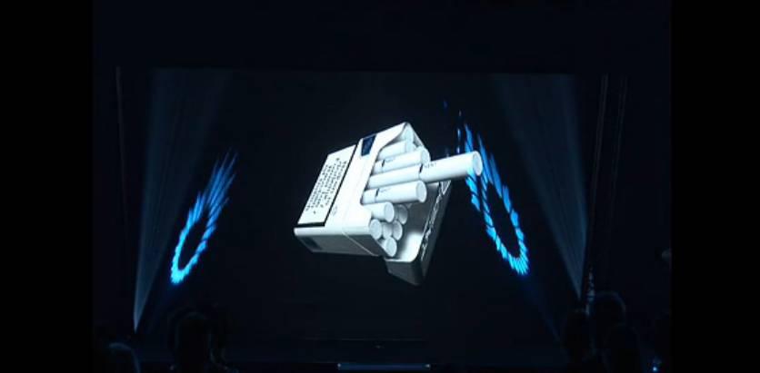3D全息立体投影技术演示KENT香烟