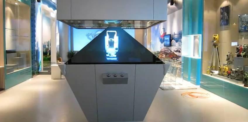 360度3D全息投影展柜