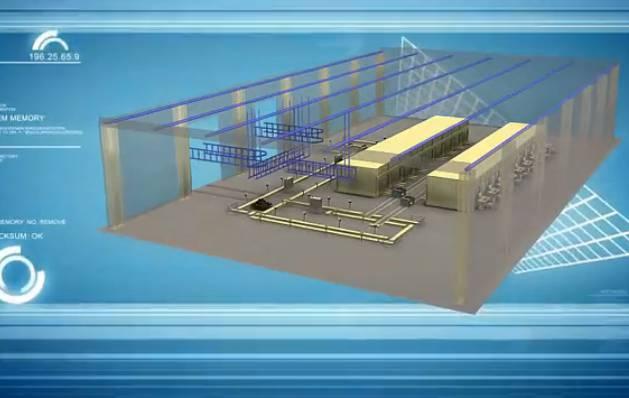 柴油机检测系统三维工业仿真动画