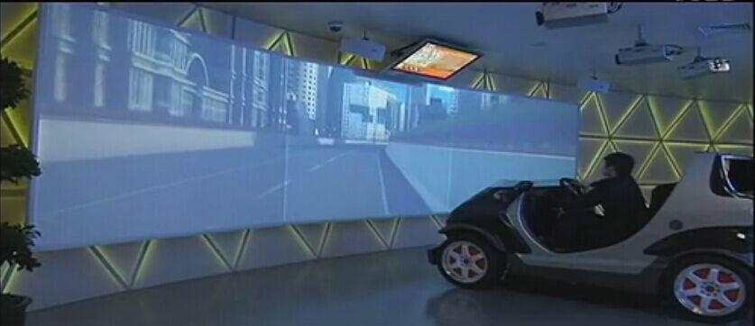 虚拟防真汽车驾驶系统
