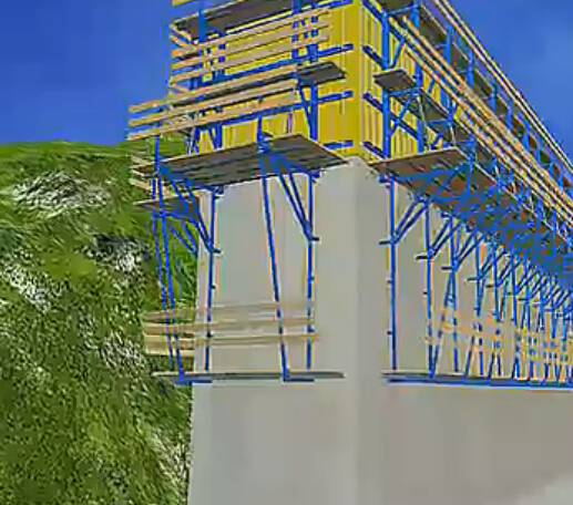 野三河特大桥工程动画