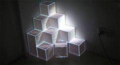 立体方块互动投影展示?>