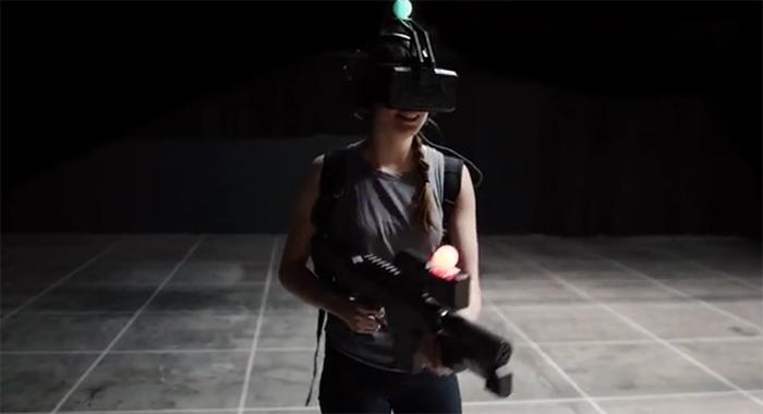 图1:穿越火线游戏之虚拟现实